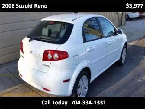 2006 Suzuki Reno Used Cars Charlotte NC