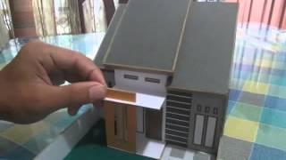 getlinkyoutube.com-Tutorial Membuat Miniatur Rumah Minimalis