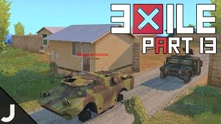 ArmA 3: Exile Mod Lingor - Part 13 - Surrounded In The BRDM!