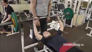 getlinkyoutube.com-Силовая тренировка с друзьями в тренажерном зале