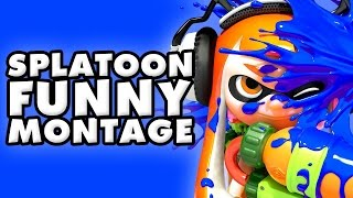 Splatoon Funny Montage!