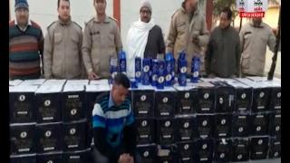 पूरे उत्तराखंड में पकड़ी जा रही है अवैध शराब