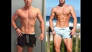 getlinkyoutube.com-12-6/7% Body fat percentage 1 month - Fat loss motivation; ft Jeff Seid Steve Cook
