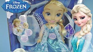 getlinkyoutube.com-Frozen  de Disney- Elsa canta conmigo, muñeca de juguete (Cefa Toys 88285)