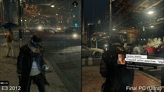 getlinkyoutube.com-Was Watch Dogs Graphically Downgraded? E3 2012 vs PC Ultra Comparison