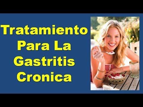 Tratamiento Para La Gastritis Cronica