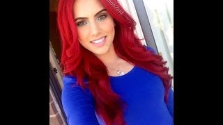 How to: dye dark hair bright red WITHOUT BLEACH!