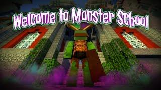 getlinkyoutube.com-Minecraft Monster School - WELCOME TO MONSTER SCHOOL #1