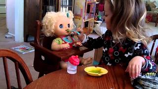 getlinkyoutube.com-My Baby Alive Doll Blonde