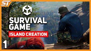 getlinkyoutube.com-1. Survival Game Tutorial in Unity 5 - Island Creation