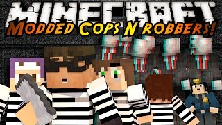 getlinkyoutube.com-Minecraft Mini-Game : MODDED COPS N ROBBERS! SLENDER!