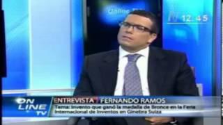 getlinkyoutube.com-Peruvian inventor Fernando Ramos on TV channel