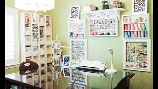 getlinkyoutube.com-Patterned Paper Organization -- Craft Room Organization