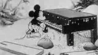 getlinkyoutube.com-Mickey Mouse - The Castaway - 1931