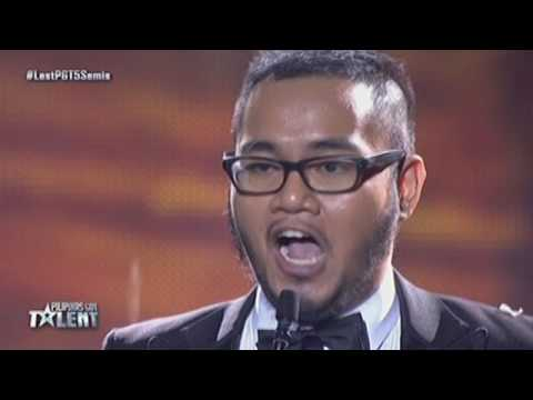 Pilipinas Got Talent Season 5 Live Semifinals: Rayner Dalde - Singer