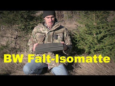 Die BW Falt-Isomatte | Outdoor AusrüstungTV