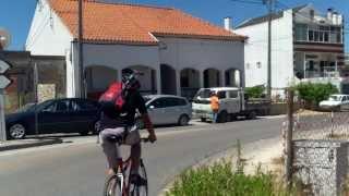 Cu bicicletele la Sesimbra, la marginea Europei