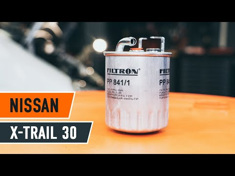 Cоmo cambiar filtro de combustible NISSAN X-TRAIL T30 INSTRUCCION | AUTODOC