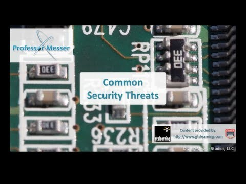 Common Security Threats - CompTIA A+ 220-802: 2.2