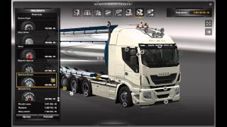 Euro truck Simulator 2 Iveco Hig Way Tandem Cistern