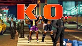 getlinkyoutube.com-KOF98 All Characters Death Combo