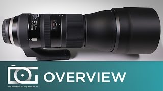 getlinkyoutube.com-Tamron SP 150-600mm f/5-6.3 Di VC USD G2 Lens for Canon (Zoom / Telephoto) | Unboxing Video