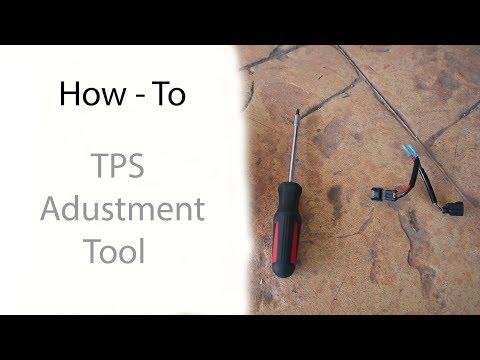 Throttle Position Sensor (TPS) Adjustment Tool - Best How To