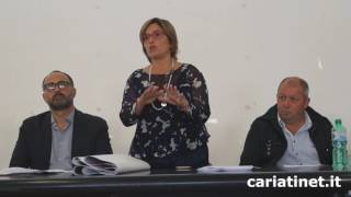 Raccolta differenziata incontro commercianti  intervento Filomena Greco