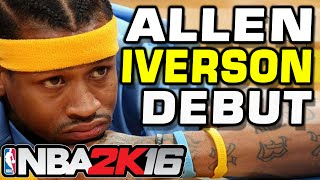 getlinkyoutube.com-NBA 2k16 Allen Iverson is UNSTOPPABLE!