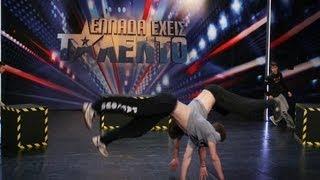 DFT Parkour - Ellada Exeis Talento 2012 E6 (29-04-2012) ANT1 TV