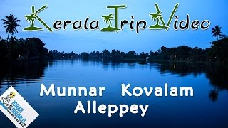 "getlinkyoutube.com-kerala Tourism video "" Munnar, alleppey and Kovalam"""
