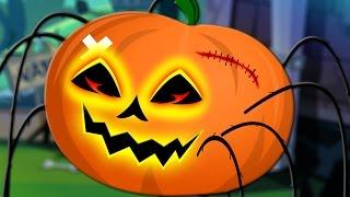 getlinkyoutube.com-scary incy wincy spider | halloween song | nursery rhymes | kids songs | scary pumpkin