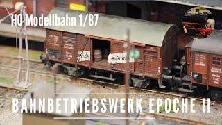 getlinkyoutube.com-H0 Bahnbetriebswerk in Epoche II - BW Belgard