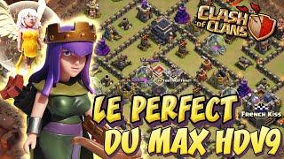 getlinkyoutube.com-Perfect de village anti 3 étoiles HDV 9 par French Kiss | Clash Of Clans Français