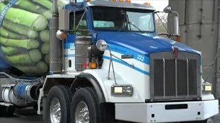 getlinkyoutube.com-Twin-Steer Axle Cement Mixer Trucks: Ocean Concrete