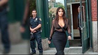 getlinkyoutube.com-Ein Polizist wirft einen Blick auf den Hintern von Kim Kardashian