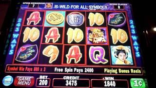 getlinkyoutube.com-Triple Fortune Dragon Bonus - Planet Hollywood, Las Vegas