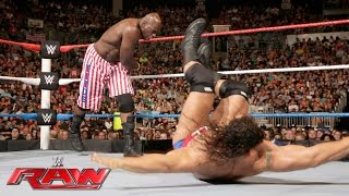 getlinkyoutube.com-Titus O'Neil vs. Rusev - United States Championship Match: Raw, July 4, 2016