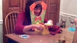getlinkyoutube.com-Pie Face Game (Thanksgiving 2011)