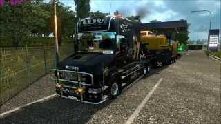 getlinkyoutube.com-Ets2  1.18.1.3s Scania T Sound V8 and New interior