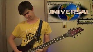 getlinkyoutube.com-Universal Studios Theme | Guitar cover
