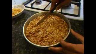 getlinkyoutube.com-peanut chikki recipe with jaggery