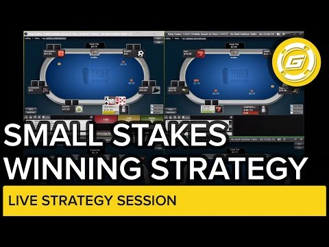 Online Poker - Small Stakes No-Limit .25/.50 Winning Session