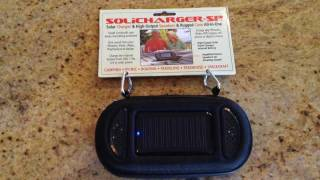 getlinkyoutube.com-SoliCharger-SP Solar Charger and High Output Speakers for iPhones, iPad, Laptop Review
