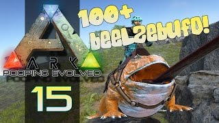 ARK: SURVIVAL EVOLVED | 100+ BEELZEBUFO!  | Episode 15 (Gameplay)