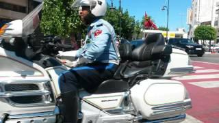 getlinkyoutube.com-لحظة مرور ملك محمد السادس من مدينة طنجة