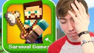 getlinkyoutube.com-SURVIVAL GAMES - MINE MINI GAME (iPhone Gameplay Video)