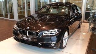 getlinkyoutube.com-BMW 5 Series 2016 In Depth Review Interior Exterior