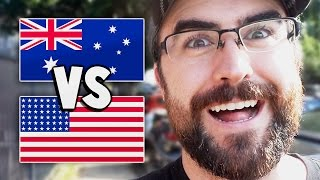 AUS vs USA - WHICH DO I LIKE BETTER?   Adventures in Australia - Day 5