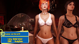 getlinkyoutube.com-Fallout 4 Mod Review 69 - 69 69 Lacy Underwear and BIGGER ASSETS 69 69 - Boobpocalypse